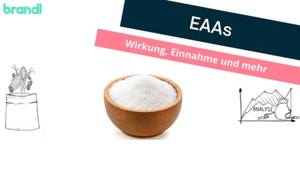 EAAs – Alle Fakten und Infos zu EAAs (essenzielle Aminosäuren).